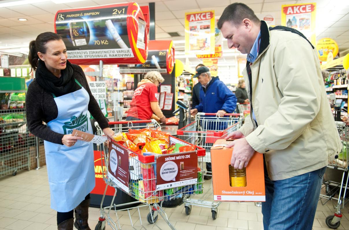Brněnský deník: Dobrovolníci pomůžou s potravinami