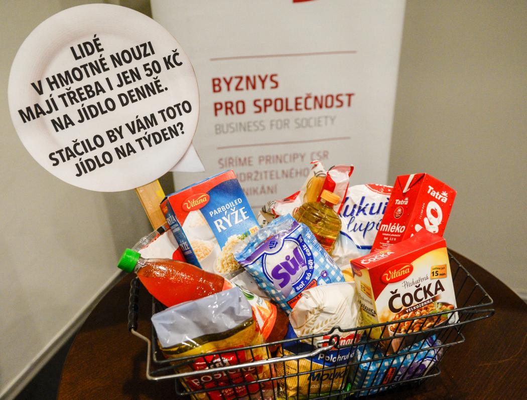 Orlický deník: Potravinová sbírka bude v Tesku ve Třebové
