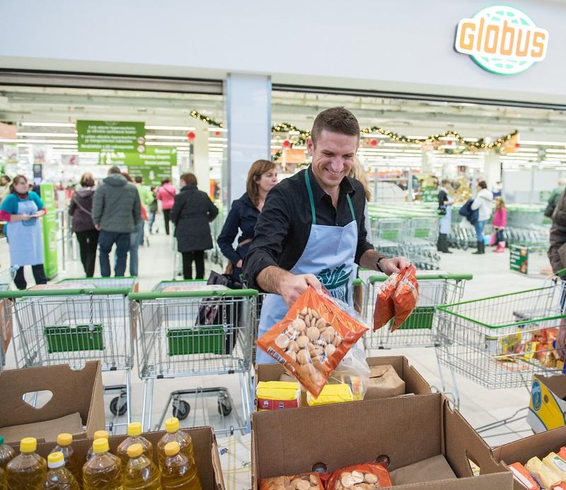 Rok 2014: Rekordně úspěšný druhý ročník Národní potravinové sbírky