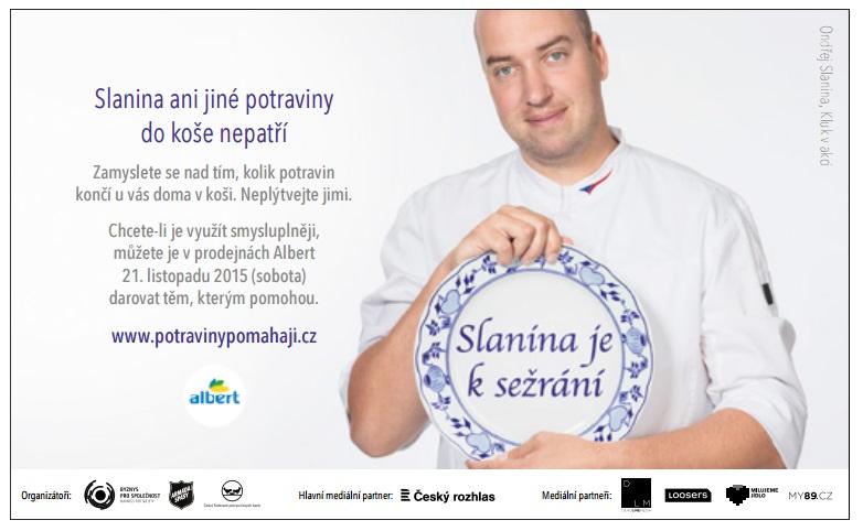 Pozvánku ke sbírce najdete i v aktuálním čísle Alberta v kuchyni
