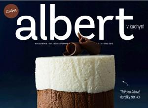 Časopis Albert v kuchyni, listopadové vydání. Repro: PP