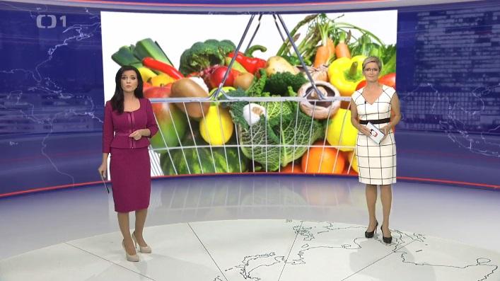 Česká televize: Reportáž, jak využít neprodané potraviny